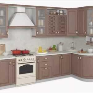 модульная кухня их массива