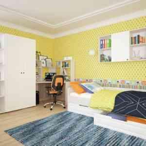 большая модульная для детской комнаты