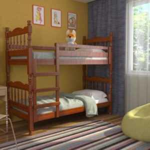 двухъярусная кровать массив