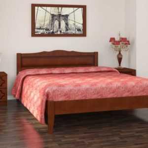 кровать массив без ножной спинки