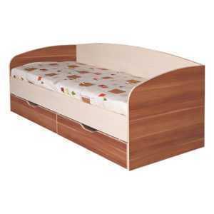 кровать с ортопедом и ящиками