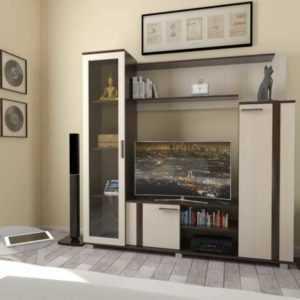 маленькая ТВ-стойка в гостиную