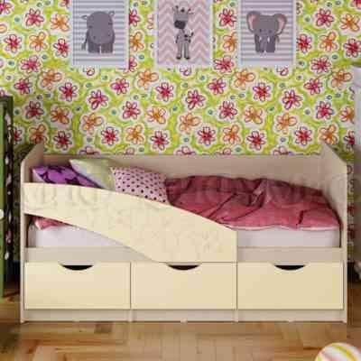 кровать с бортами и ящиками