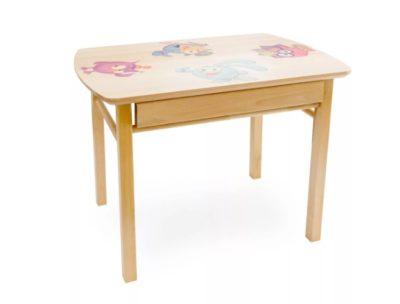 детский столик с ящиком
