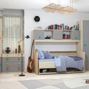 модульная система для комнаты подростка